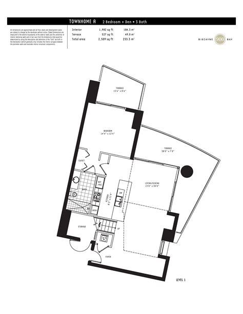 900 biscayne floor plans 900 biscayne townhouse floor plans floor matttroy