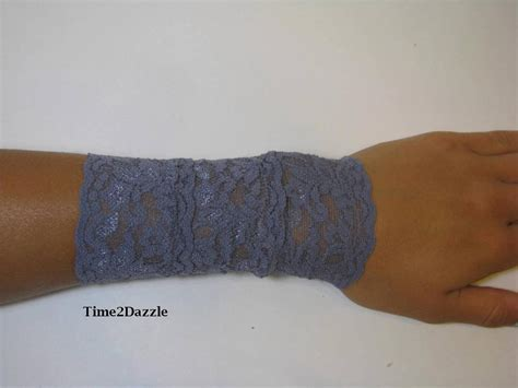 wrist tattoo cover bracelets lace wrist cuff stretch lace bracelet arm band
