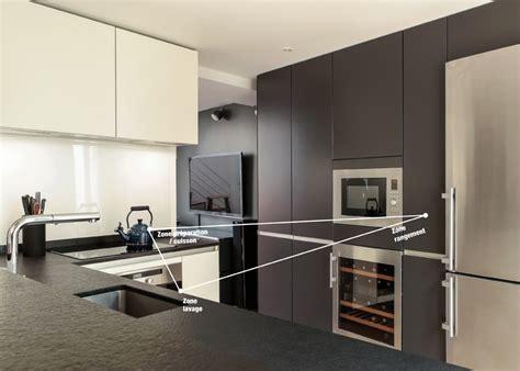cuisines bains tout savoir sur le triangle d activit 233 en cuisine