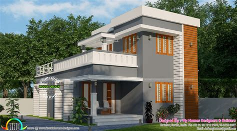 simple  budget  bedroom house kerala home design