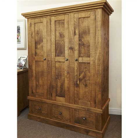 plank bedroom furniture rustic chunky plank wardrobe rustic bedroom furniture
