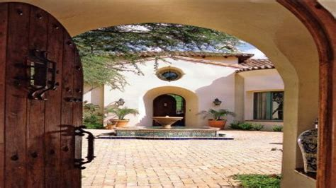 small spanish style house plans house style design spanish style courtyard home designs small spanish style