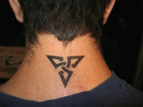back neck tattoos for men back neck back neck