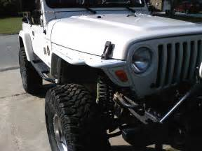 Jeep Fenders Tj Jeep Tj With Flat Fender Flares Car Interior Design