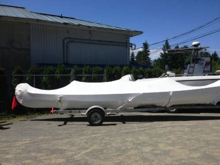 boat shrink wrap vancouver bc shrink wrapping cv marine courtenay british columbia