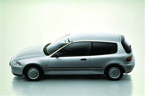 HONDA Civic 3 Doors specs   1991, 1992, 1993, 1994, 1995