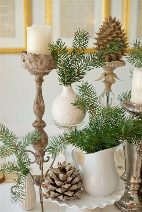 tischdeko weihnachten zapfen diy deko 30 herbstliche deko ideen mit zapfen basteln