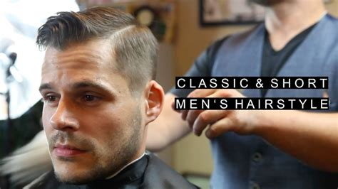 mens haircuts easy to maintain classic s hairstyles easy to maintain business professional haircut w