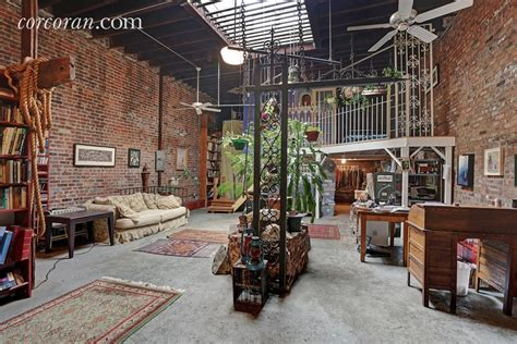 Modern Studio Apartment quirky east williamsburg artist s loft offers a bygone