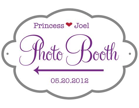 photo booth sign template free photo booth sign family