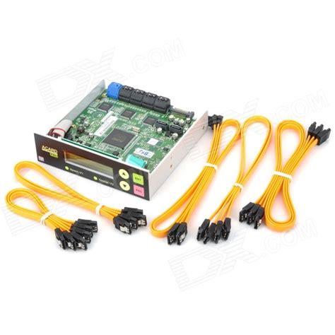 Dvd Duplikator Acard 1 11 acard 2 5 quot lcd 1 to 11 sata to sata bd dvd duplicator controller free shipping dealextreme