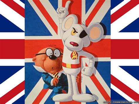 cartoon wallpaper uk danger mouse wallpapers crazy frankenstein