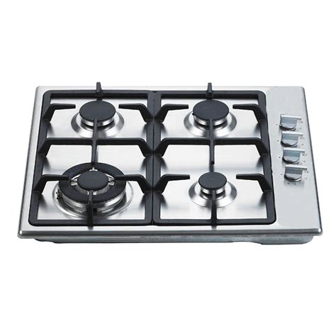 Cooktop Gas Stove everdure 60cm 4 burner gas cooktop with wok ring