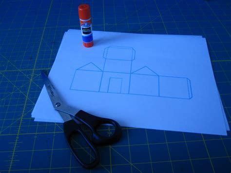 How Do You Make A Paper House - papercraft jumbo jibbles