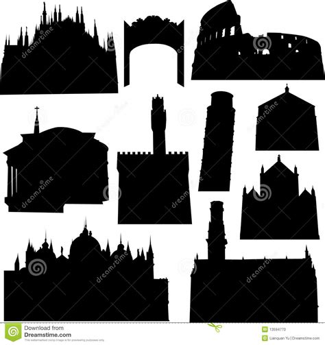 well known architects well known italian architecture stock photo image 13594770