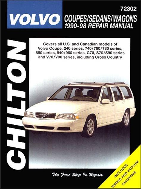 1998 volvo v70 transmission service repair manuals volvo 240 740 760 780 850 960 c70 s70 s90 v70