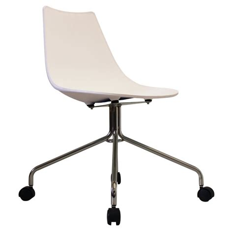 White Modern Swivel Chair From Only Home Swivel Chair White