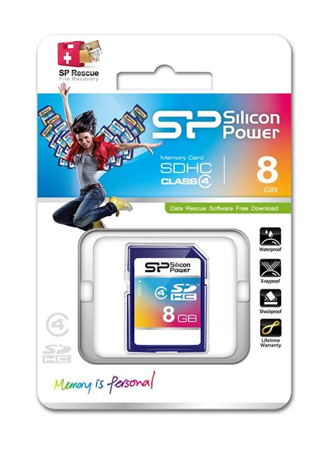 Memory Ddr4 8gb Silicon Power Pc2400 8gb silicon power secure digital sdhc cl4 memory card