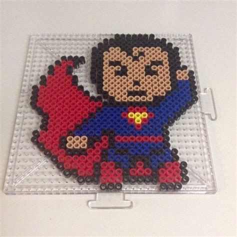 perler superman superman perler by mybeed lego