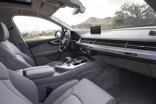 Audi Q7 Inside View 2016 Audi Q7 Drive Photo Gallery Motor Trend