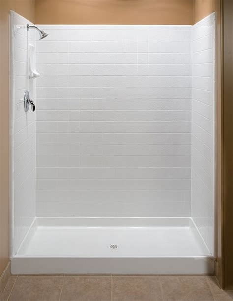 Shower Enclosures With Seat Fiberglass Shower Stalls Bathroom Shower Stalls With Seat