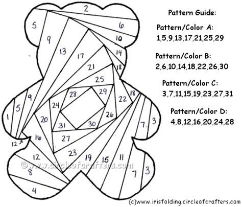 iris folding templates free printable iris folding patterns iris folding