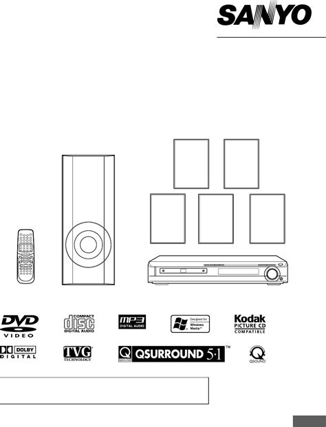 sanyo home theater system dwm 2500 user guide
