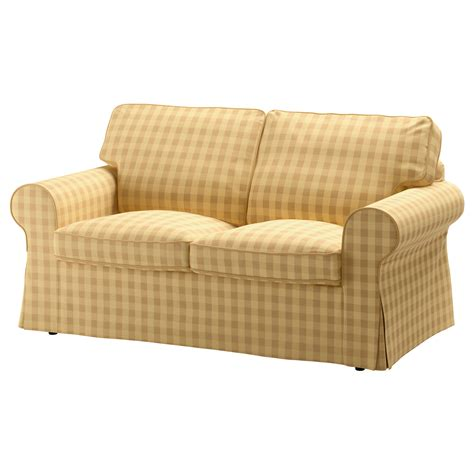 yellow loveseat ektorp two seat sofa skaftarp yellow ikea