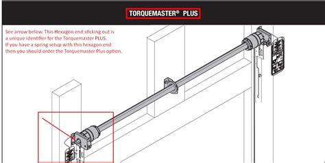 garage doors torsion springs replacement