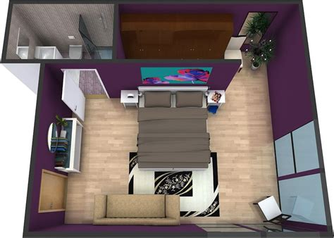 House Design Layout 3d by Master Bedroom Plans Roomsketcher
