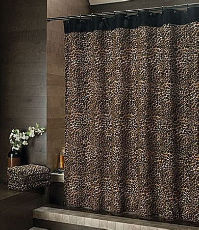 cheetah shower curtain pin by lizzey bronow on decor pinterest