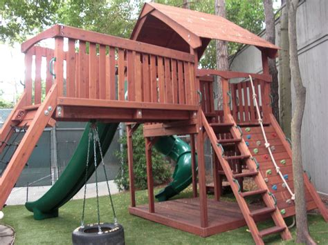 custom swings triyae com custom backyard playsets various design