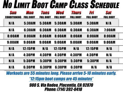marine boot c schedule marine boot c schedule marine boot c