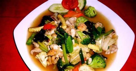langkah membuat capcay langkah pembuatan capcay seafood mantap resep masakan