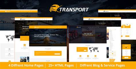 themeforest html templates nulled transport logistics html template nulled download