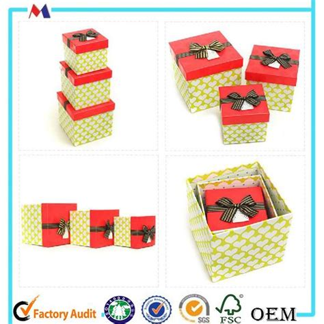 holiday nest box nested christmas gift boxes decorative