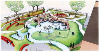 oak park irving school schoolyard childrens playground design master plan chicago rendering