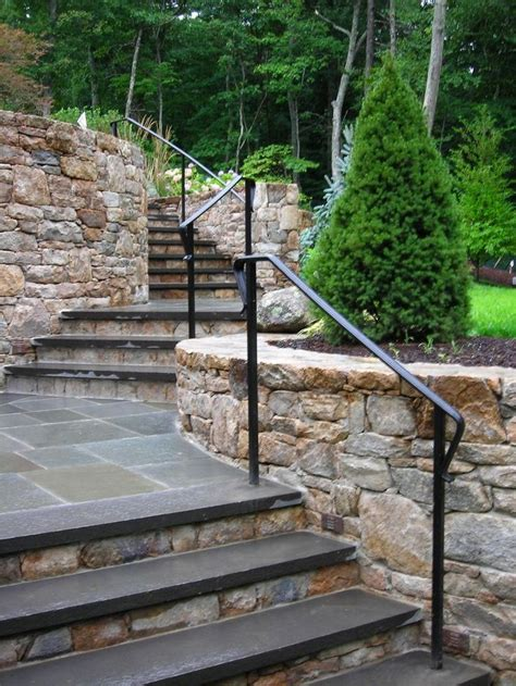 Outdoor Handrails Garden stairs stunning outdoor handrails outdoor handrails outdoor stair railing home depot garden