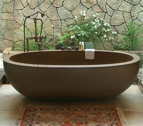 stone baths sinks and baths tropical living