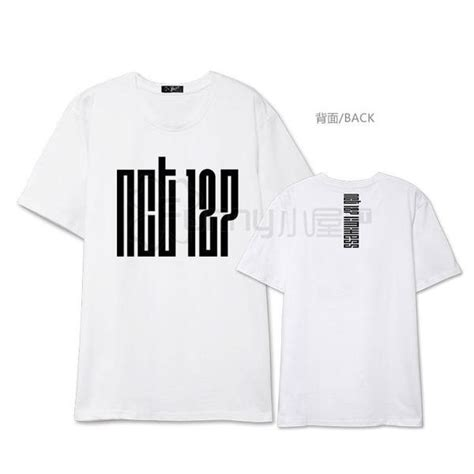 Nct 127 Babyterry Sweater nct 127 member t shirts idols fashion