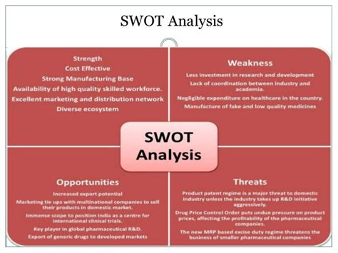 Mba Swot Analysis Of Pharmaceutical Industry by Indian Pharma Industry