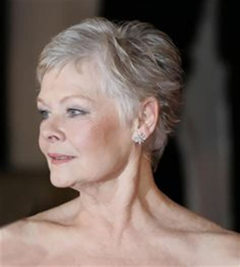 back of judy dench hair the 5 most flattering haircuts for women in their 70s and