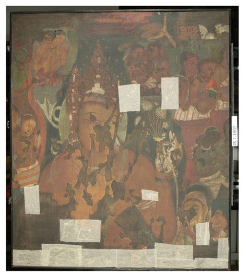 the cacouna caves and the mural books copy of painting inside the caves of ajanta cave 11