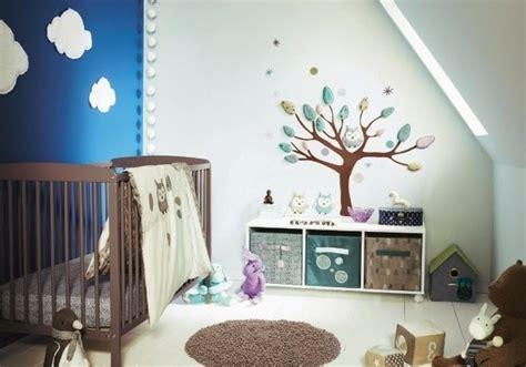 coole designs für schlafzimmerwände babyzimmer design wanddeko