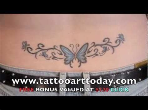 lower back tattoo youtube lower back tattoo s view the sexiest girls with lower