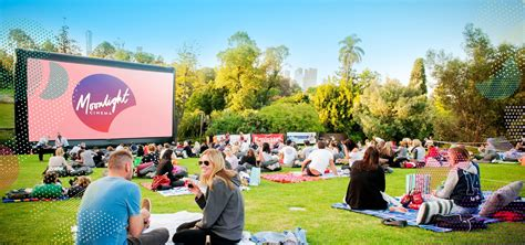 Botanical Gardens Outdoor Cinema Home Moonlight Cinema