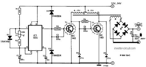 fungsi transistor 2n3055 pada inverter 2n3055 inverter circuit diagram circuit diagram images