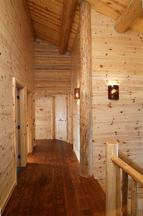 Knotty Pine Wainscoting by Knotty Pine Paneling Tongue Groove Woodhaven Log