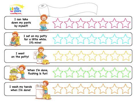 magnet reward chart potty training toilet training children s