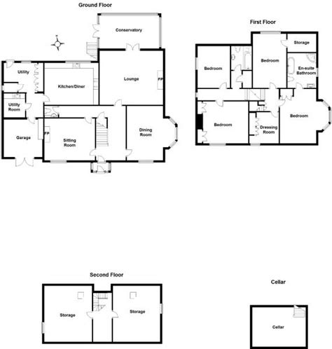 the burrow floor plan 5 bedroom detached house for sale in burrow heights lane